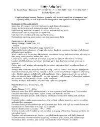 cover letter non profit professional resume objectives overview