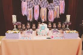 Dream Catcher Baby Shower Decorations Extraordinary Kara's Party Ideas Dream Catching Baby Shower Kara's Party Ideas