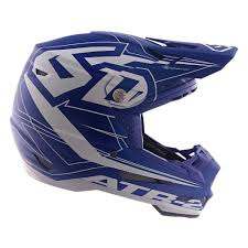 6d Helmets Atr 2 Aero Mens X Small Blue Off Road Helmet