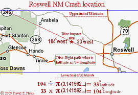 Image result for Roswell, New Mexico map .