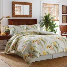 comforter captivating reverisble tropical orchid quilt set