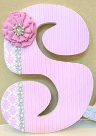 custom nursery letters nursery wall