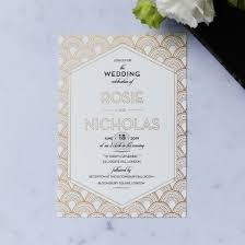 art deco inspired wedding stationery with custom foiling Cheap Art Deco Wedding Invitations Uk contemporary glamour wedding invitation card fwi116059 ki mg art deco wedding invitations uk
