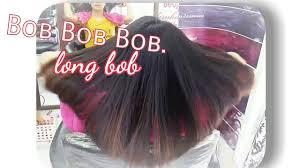 ปกพนในบอรด Bob Hairstyles