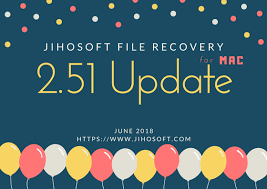 Jihosoft File Recovery For Mac 2 51 Hits The Market With Effective