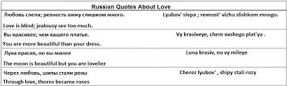 Russian Love Quotes Unique Quotes About Love In Russian Language 48 Quotes