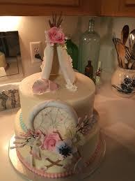 Dream Catcher Baby Shower Cake Dream Catcher Cake CakeCentral 6