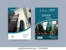 creative book cover design abstract position with image set of a4 brochure le sheet