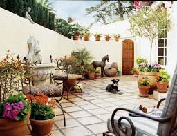 Small Picture Mediterranean Style Garden Design Ideas Home Decoration Collection