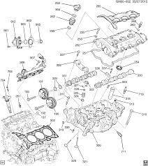 2013-2016 W ENGINE ASM-3.6L V6 PART 2 CYLINDER HEAD & RELATED ...