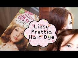 Liese Hair Dye Color Chart Liese Prettia Bubble Hair Dye In Milk Tea Brown Diy Hair