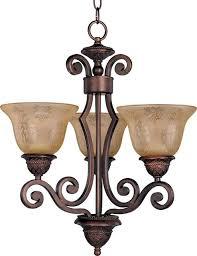 maxim symphony 3 light chandelier oil rubbed bronze