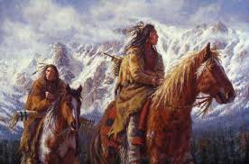 james ayers native american indian art warriors the high country