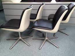 Space Age Furniture Wilkhahn Office Chairs Vintage White Space Age Futurism