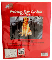 Protective Rear Car Seat Cover For Pets Amazon Pet Supplies
