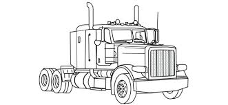 logging coloring pages stylish design semi truck coloring pages logging page download print