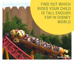Disney World Height Restrictions Chart Ride Height Restrictions Allears Net