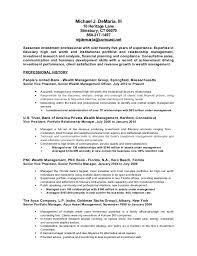 Wealth Manager Cover Letter Sarahepps Com