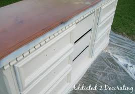 Distressed antique furniture Tone How To Paint Distress And Antique Piece Of Furniture Addicted Decorating Addicted To Decorating How To Paint Distress And Antique Piece Of Furniture Addicted