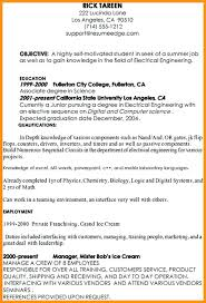 Resume Objective Tips Finance Internship Resume Sample Sample Accounting Resume And Tips 96