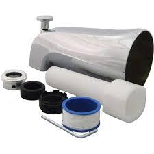 PartsmasterPro Universal Tub Spout with Diverter in Chrome-58485 ...