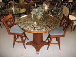 image of 48 inch round granite table top