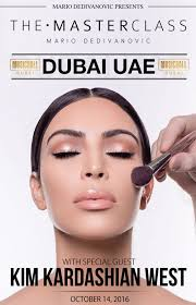 now it can be one of yours as kim kardashian prepares to share her knowledge along with her makeup artist mario dedivanovic at an exclusive master cl
