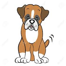Boxer Silhouette Dog At Getdrawingscom Free For Personal Use
