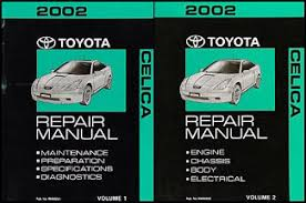 2002 toyota celica wiring diagram manual original related products