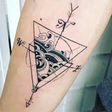 Geometric Tattoo Nyc