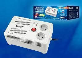 <b>Стабилизатор</b> напряжения 500 ВА <b>U</b>-<b>RST</b>-<b>500-1 Uniel</b>