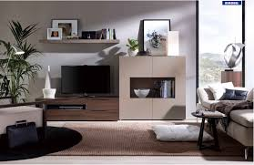 Wenge Living Room Furniture Rio Wall Unit In Wenge Beige Finish By Rimobel Made In Spain