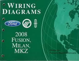 2008 ford fusion mercury milan lincoln mkz electrical wiring wiring diagrams ford mercury lincoln 2008 fusion milan mkz