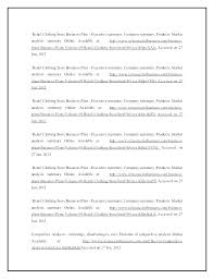 Executive Summary Sample For Proposal Executive Summary Of Business Plan Sample Outline Comic Book