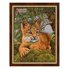 lynx size diamond painting small lynx az 1525 size 30 40