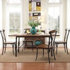 quality small dining table designs furniture dut: tribecca home nelson industrial modern metal dining table