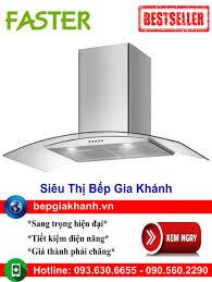 Bán Máy hút mùi nhà bếp dạng kính cong 90cm Faster FS 3388C1 90, máy hút mùi,  máy hút khói, máy hút khói khử mùi, may hut mui, máy hút mùi bếp