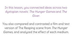 lesson compare and contrast text and film version connect the view resource copy resource id