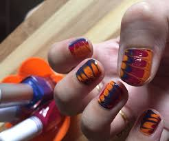 Water Marble Nail Art Without Water: 3 Steps (with Pictures)