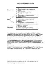 general paragraph essay outline general paragraph essay  2 pages five paragraph essay