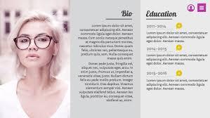resume-profile-in-genially