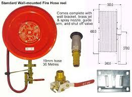 fire hose reel standard