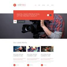 website template video solutions for video studio website template studios videos and