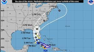 Tropical storm watch in effect for ...