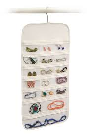 richards homewares hanging jewelry organizer 37 pockets bedroom closet