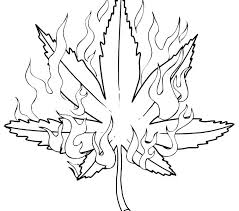 Draw Coloring Pages Pot Leaf Coloring Pages Draw Download Down Easy
