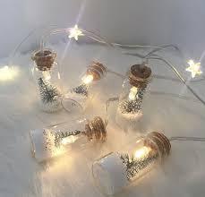 Mini Light Garland Christmas Tree Mini Bottle Light Garland Little Love Of