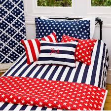 stars and stripes duvet dooner cover set navy