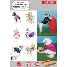 Simplicity Dog Patterns Awesome Decoration