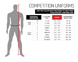 Size Charts Uniforms Belts Century Martial Arts Fitness